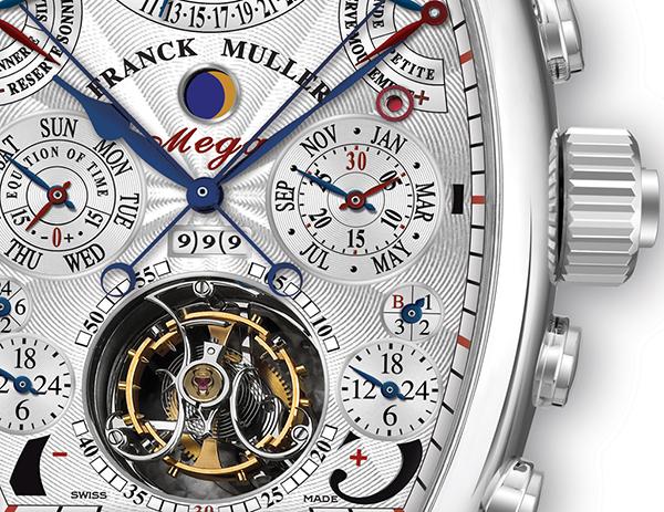 7b528863465b Franck Muller es un relojero de Ginebra que se especializó en los  mecanismos clásicos mecánicos para seguir la tradición del país de los  relojes