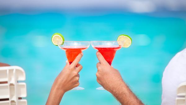 Verano, Vacaciones y Margaritas de colores