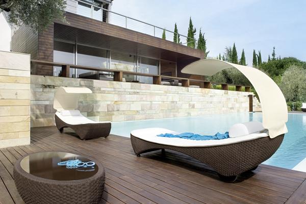 Muebles de diseño para jardines y terrazas - estilos de vida ...
