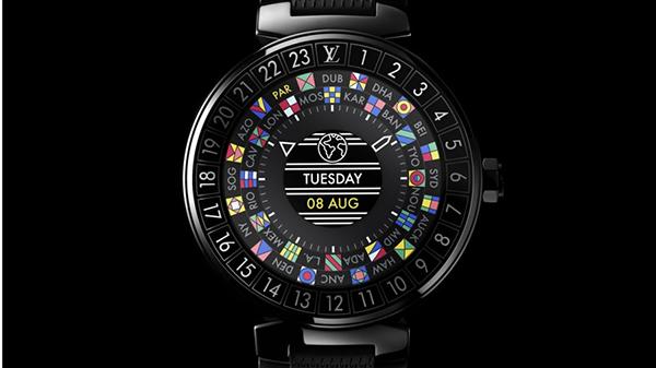 Louis Vuitton se suma a los smartwatch de alta costura