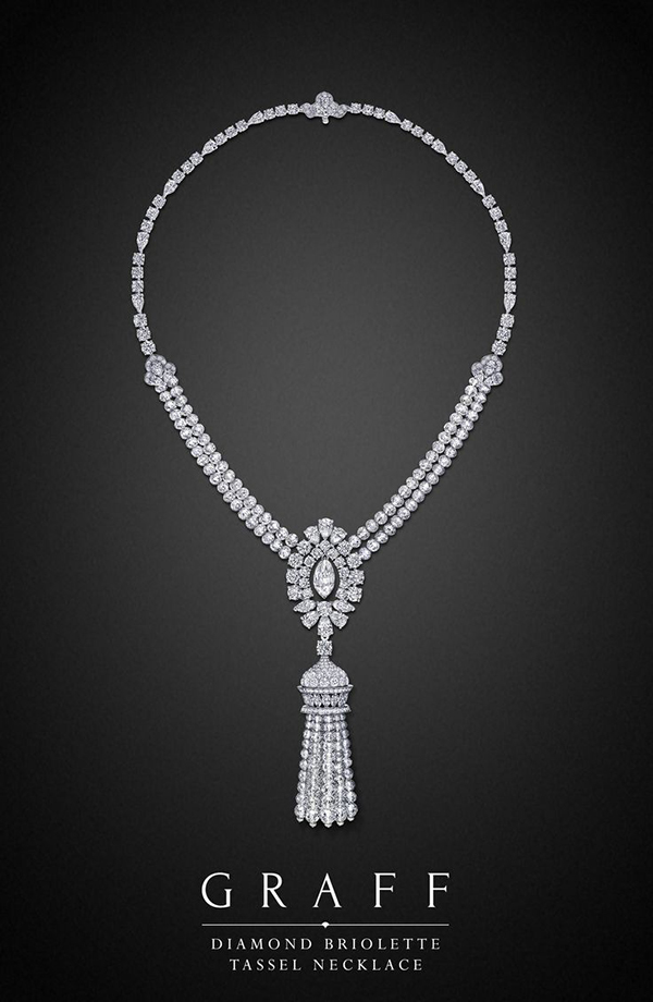 Graff Diamond and Platinum Necklace