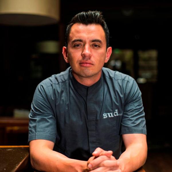 Chef Edgar Núñez y su restaurante Sud 777 en Mexico
