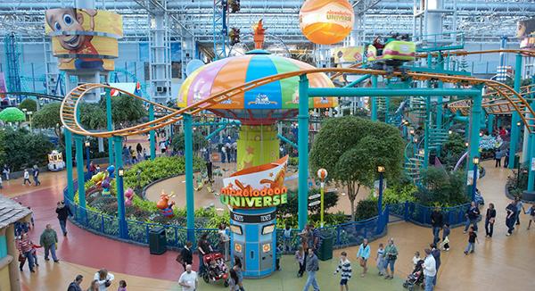 mall of america nickelodeon