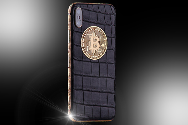 iPhone X Edición Limitada BITCOIN de Stuart Hughes