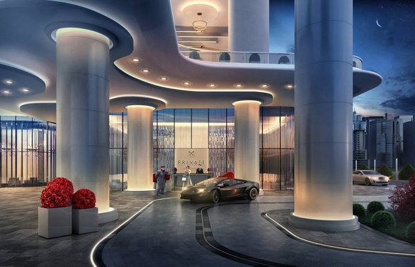 Así será el nuevo Hotel Dorchester de Dubai