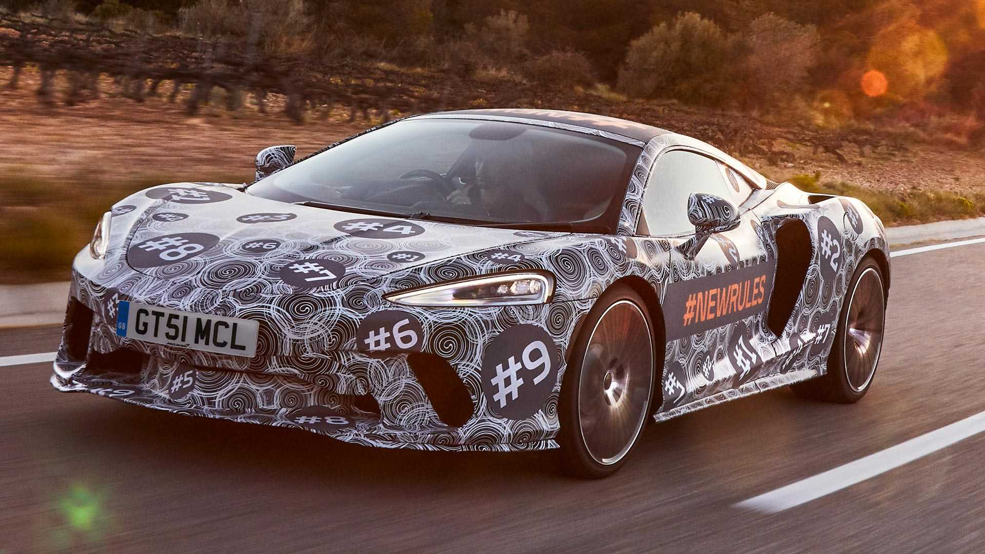 McLaren adelanta los primeros detalles de su nuevo 'Grand Tourer'
