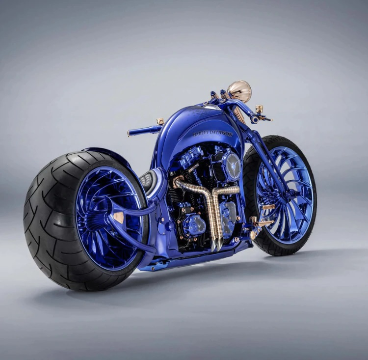 Conoce la Harley-Davidson más cara del mundo