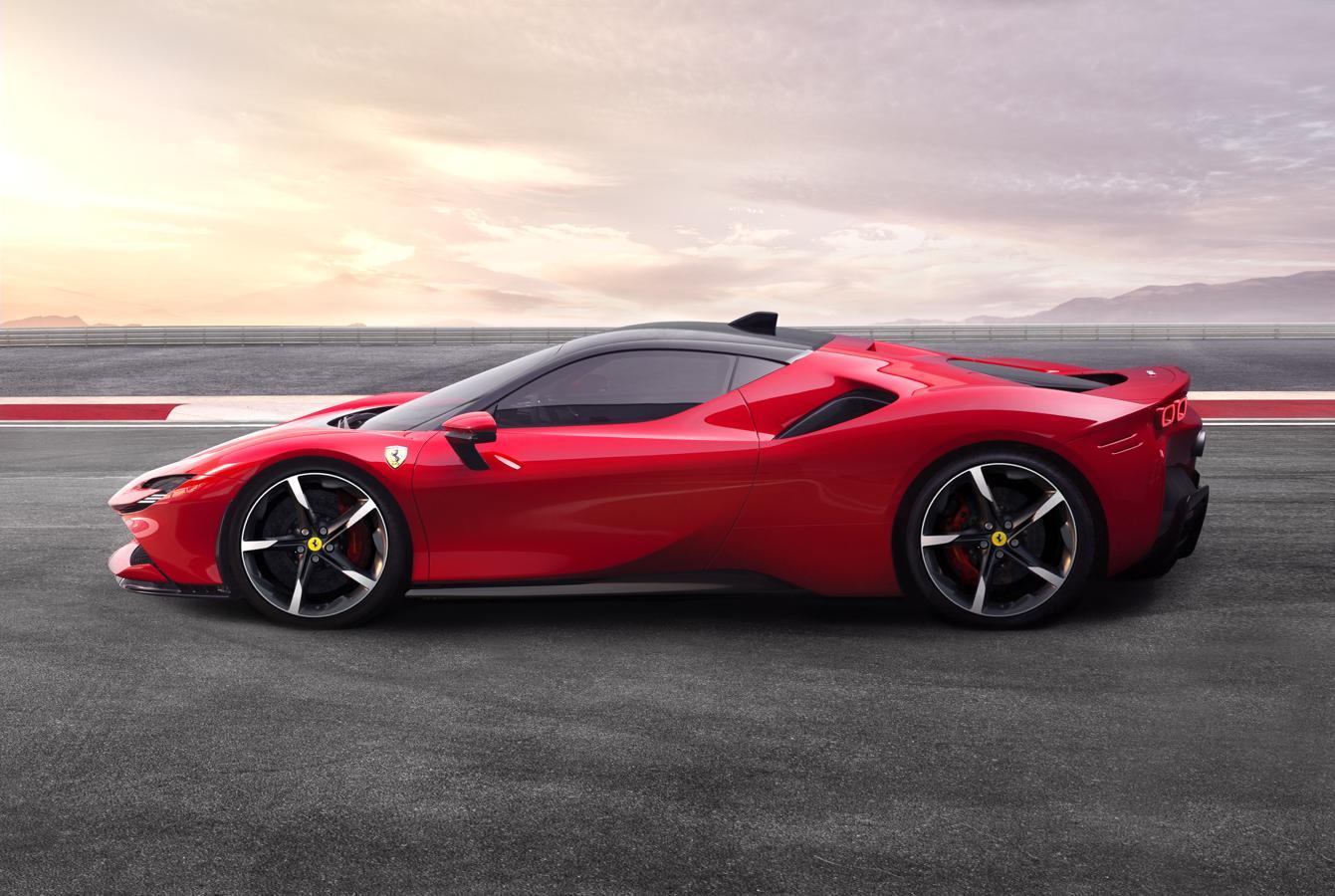 Ferrari s9 Stradale, el primer híbrido enchufable de la marca italiana