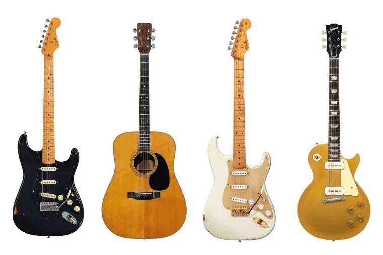 Las guitarras de David Gilmour alcanzan los 21,5 millones de dólares en su subasta