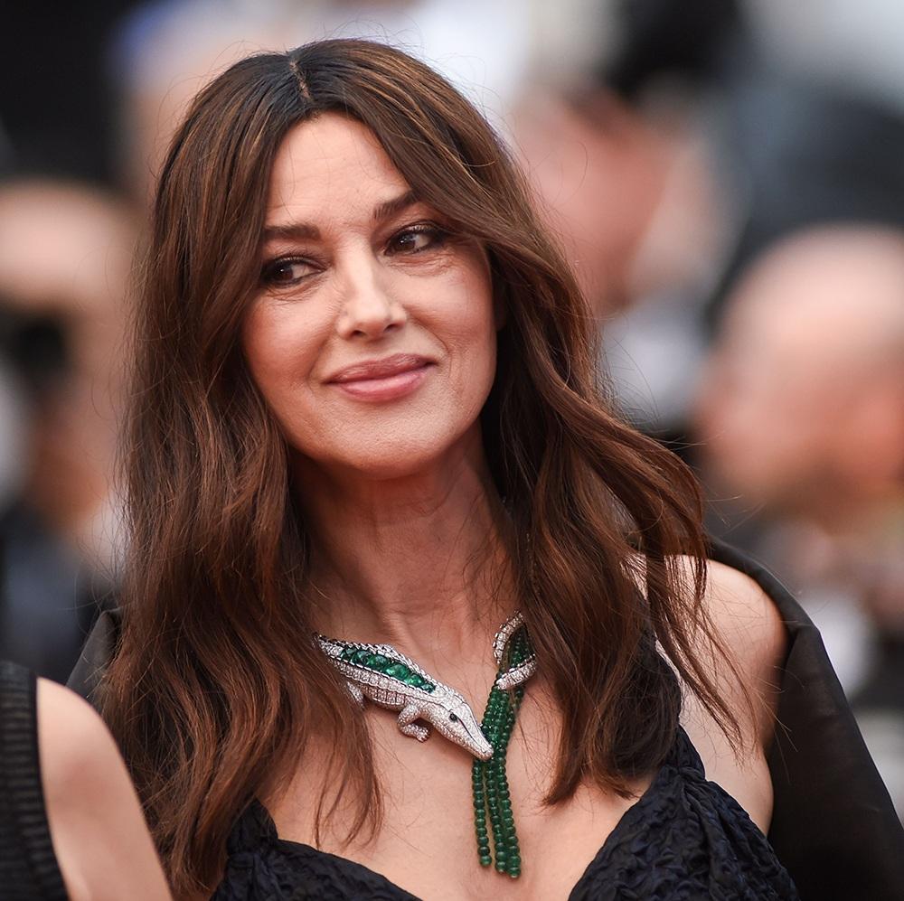 El collar de Mónica Bellucci en honor a María Félix deslumbra en el festival de Cannes