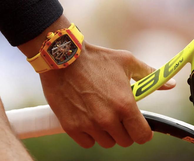 El reloj Tourbillon RM 27-03 de Rafa Nadal, un amuleto de 800.000 euros