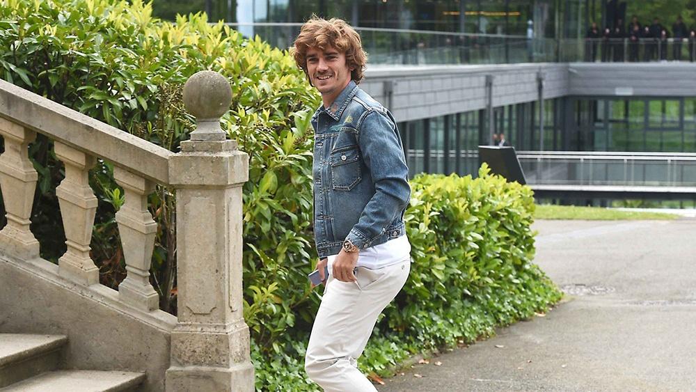 El llamativo Rolex de Antoine Griezmann de 80.000 euros