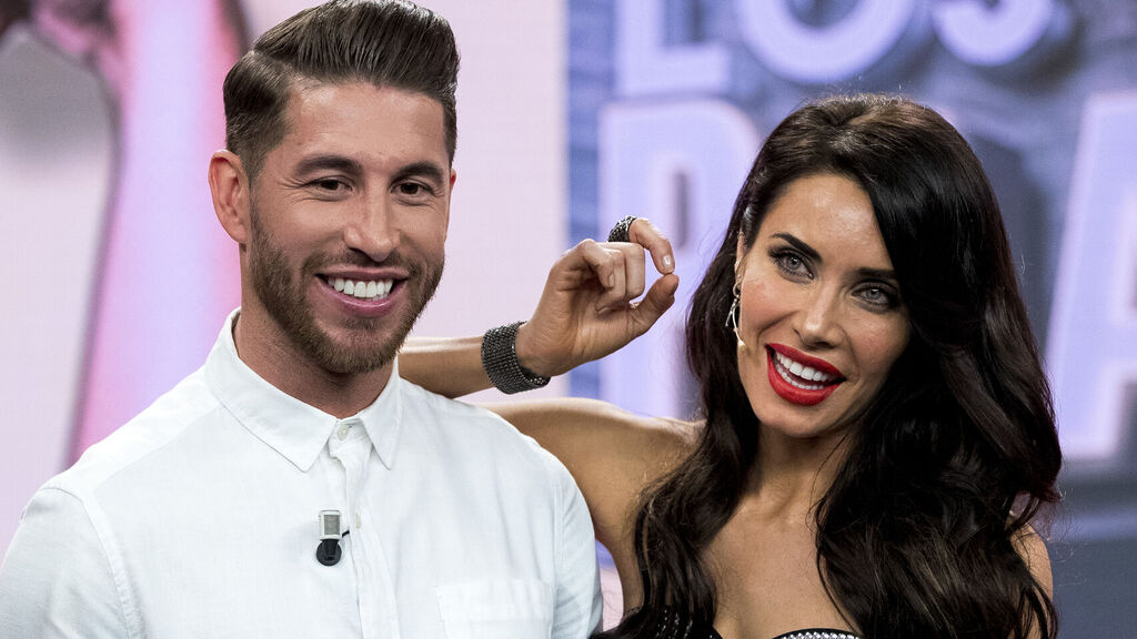Boda de lujo para Sergio Ramos y Pilar Rubio